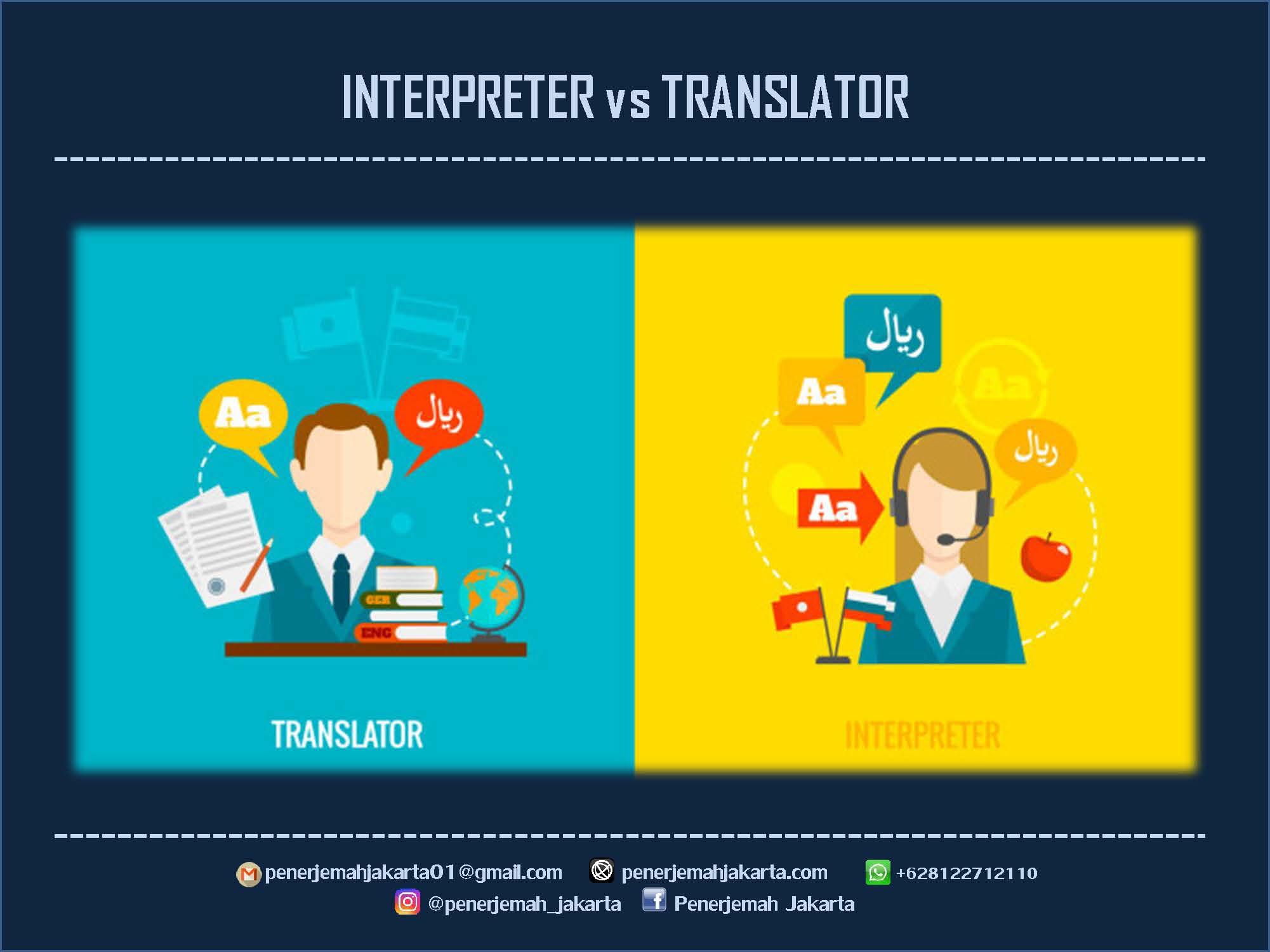 INTERPRETER dan TRANSLATOR