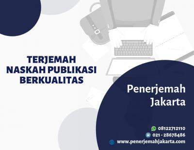 Translate Naskah Publikasi Berkualitas