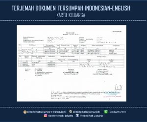 Terjemah Dokumen Pengajuan VISA