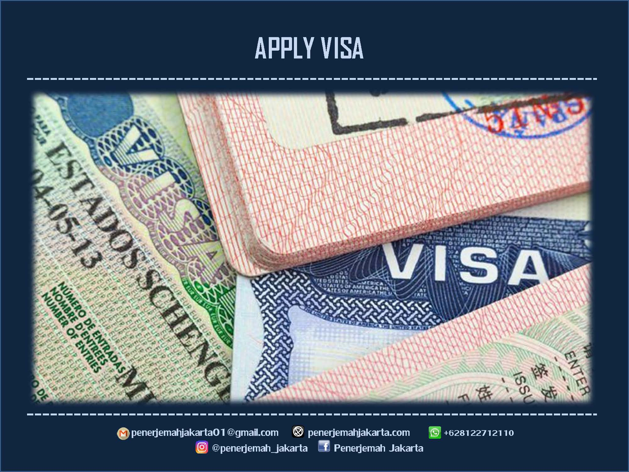 HOW TO APPLY VISA
