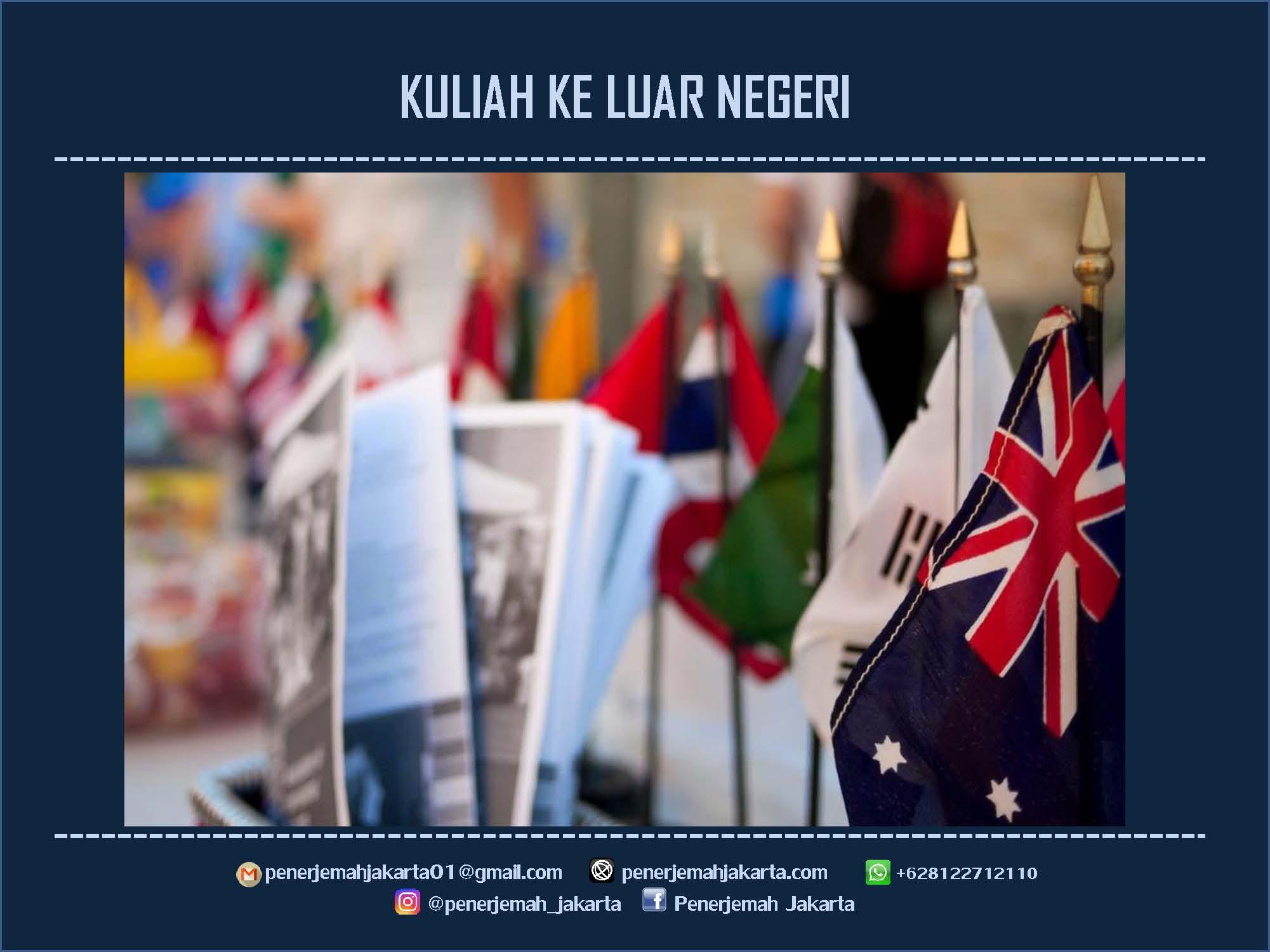 Jasa Penerjemah Resmi Dokumen Beasiswa