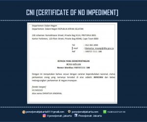 MENDAPATKAN CNI [CERTIFICATE OF NO IMPEDIMENT]