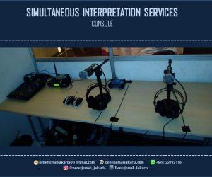 Interpreting Konsekutif dan Simultan