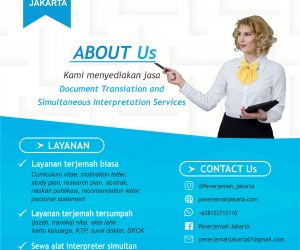 Jasa Penerjemah Abstrak di Surabaya