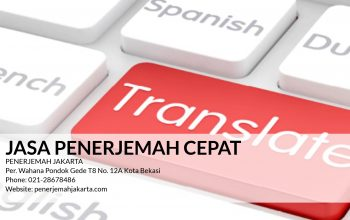 Jasa Penerjemah Cepat