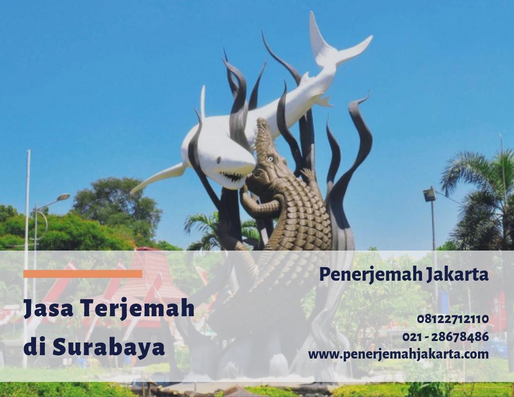 Jasa Terjemah Surabaya Terpercaya