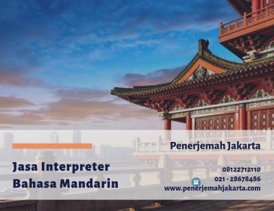 Jasa Interpreter Mandarin