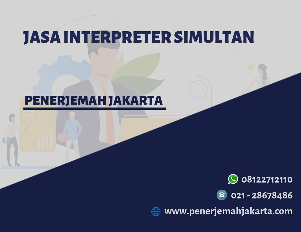 Jasa Interpreter Simultan