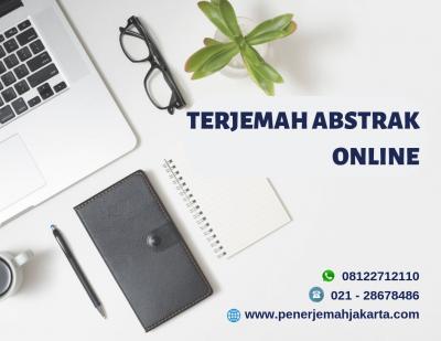 Terjemah Abstrak Online