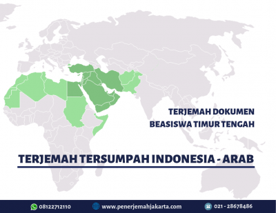 Terjemah Tersumpah Indonesia Arab
