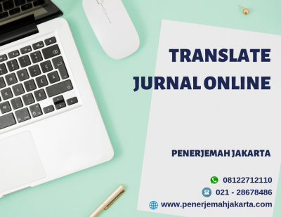Translate Jurnal Online