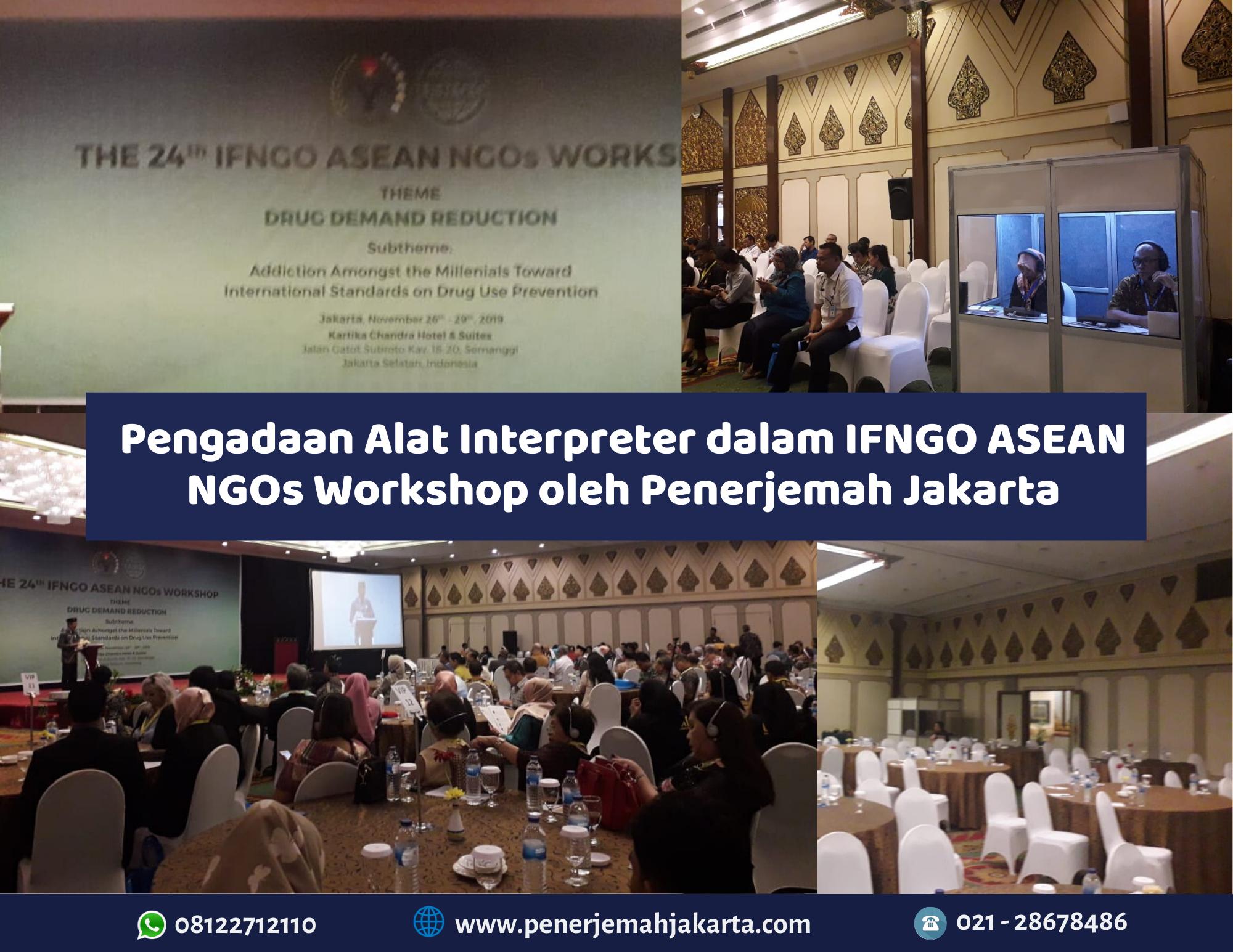 Pengadaan alat interpreter di Jakarta