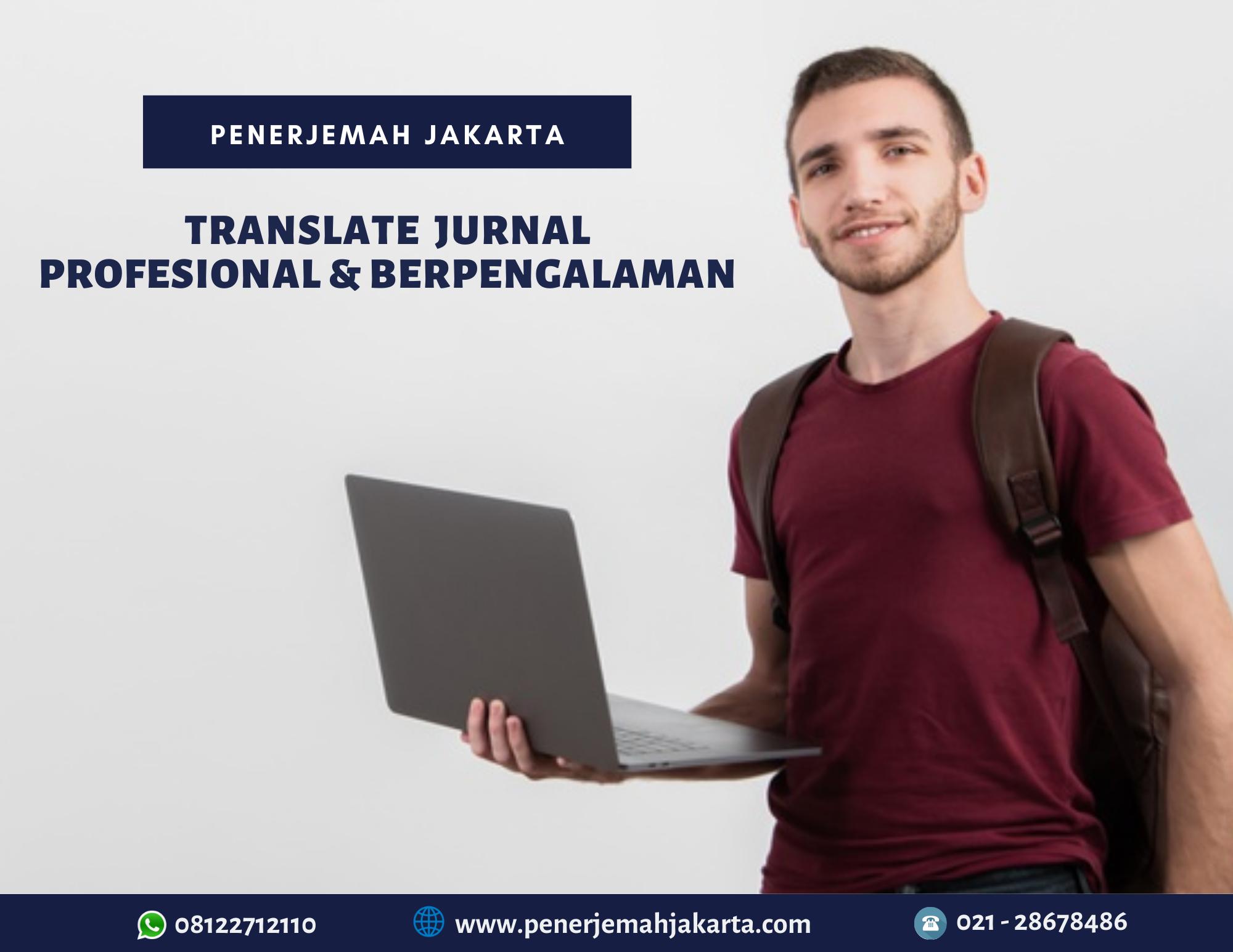 Jasa Translate Jurnal Profesional