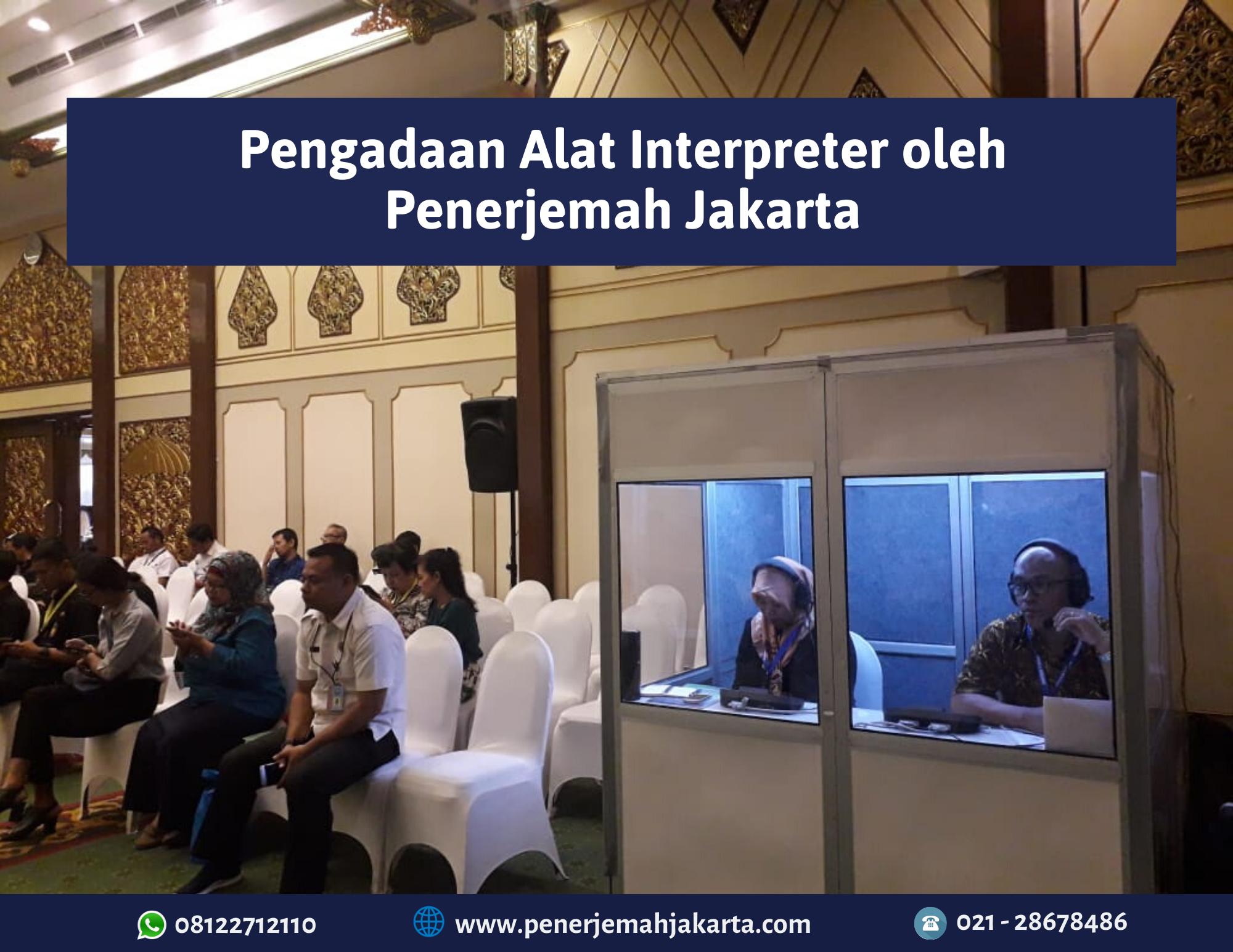 Sewa Alat Interpreter Seminar