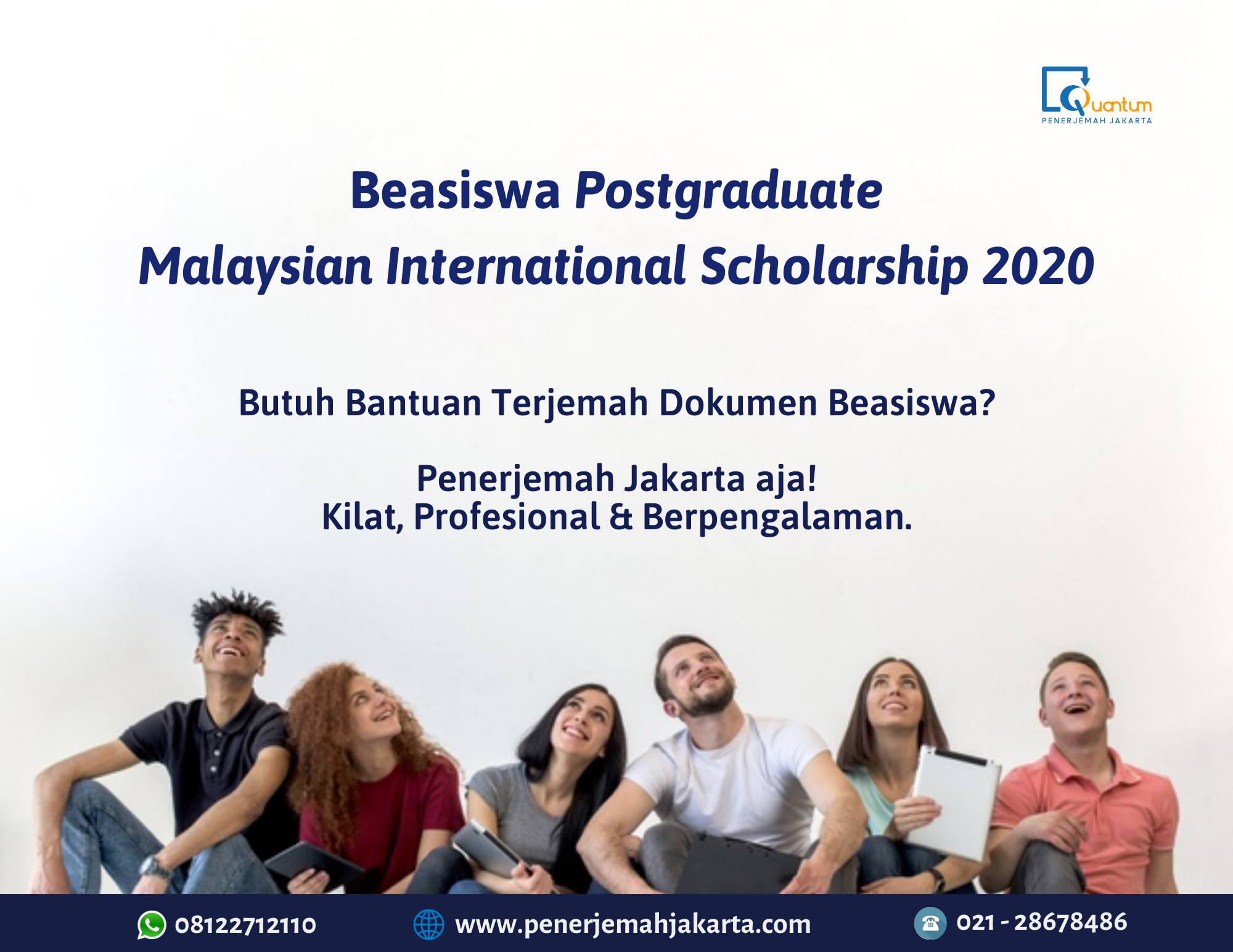 Beasiswa Postgraduate Malaysian International Scholarship 2020