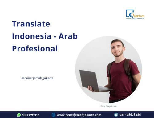 Translate Indonesia Arab