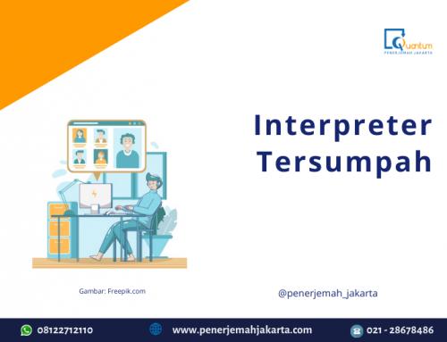 Jasa Interpreter Tersumpah