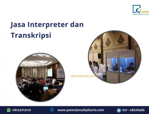 Jasa Interpreter dan Transkripsi