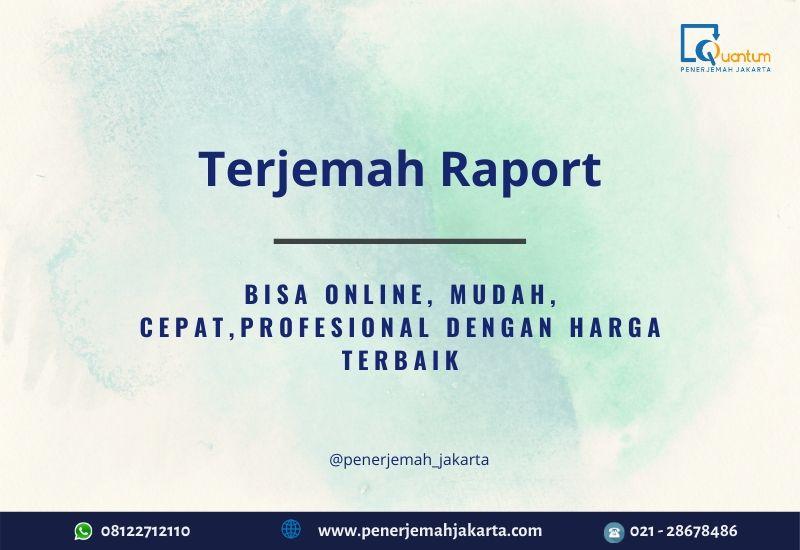 Terjemah Raport