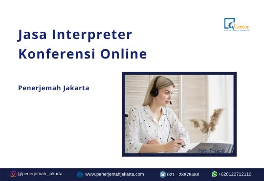 Interpreter Konferensi Online