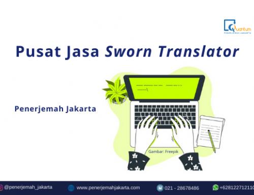 Sworn Translator Jakarta