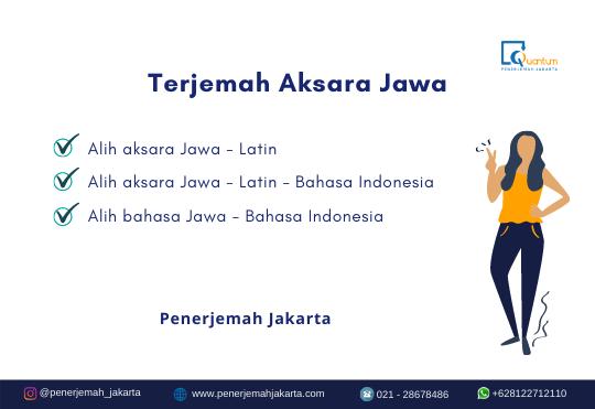 Aksara Jawa ke Indonesia