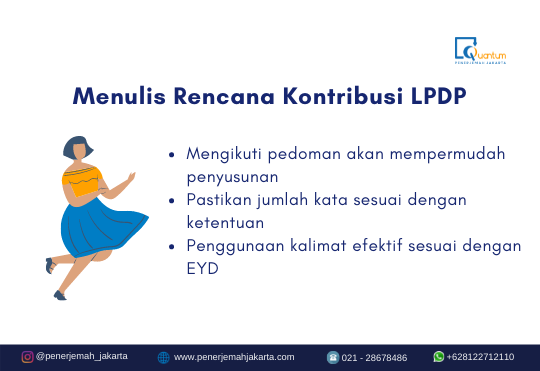 Rencana Kontribusi LPDP